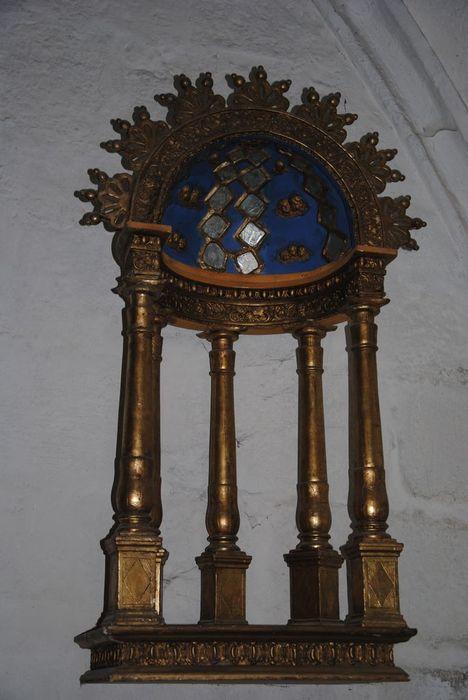 Niche : de la Vierge de Lourdes