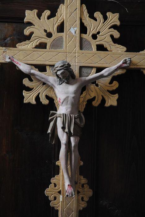 croix de procession n°1, détail