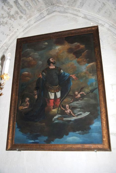 Tableau : Saint Julien entrant dans la Gloire
