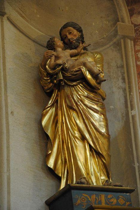 Statue : Saint Joseph à l'Enfant