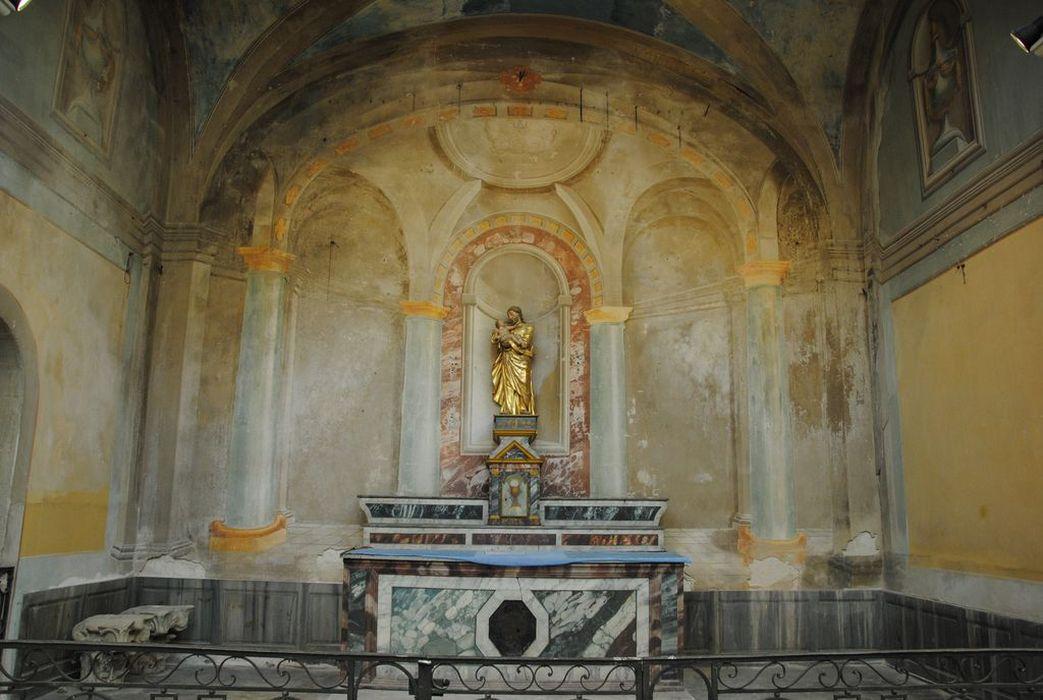 Décor d'architecture ; autel : de saint Joseph