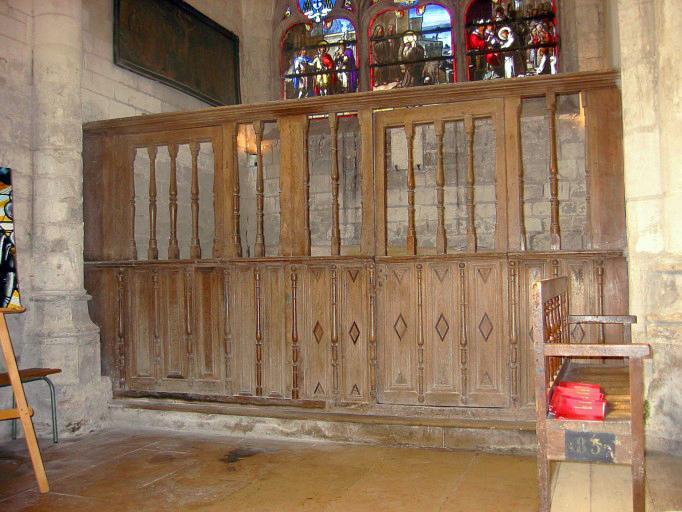 bas-côté nord, 1ère chapelle