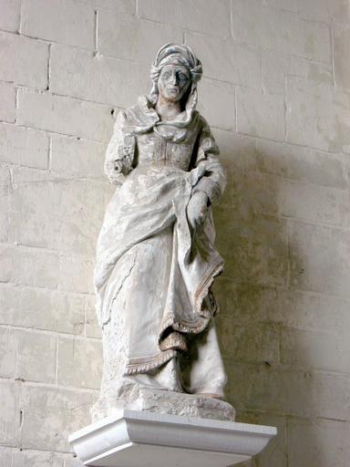 2 statues : Deux saintes femmes au Sépulcre