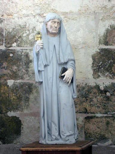 Statuette : Abbé