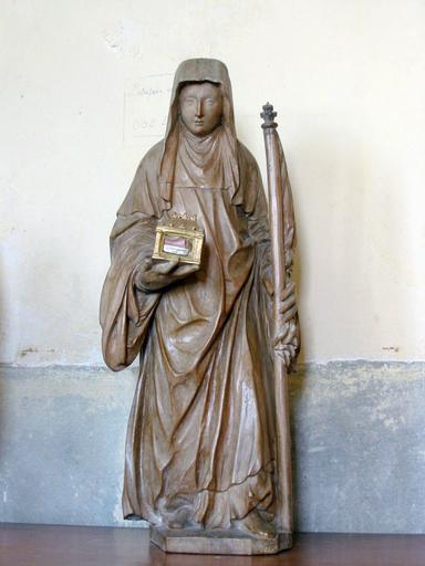 Statuette : Sainte Radegonde