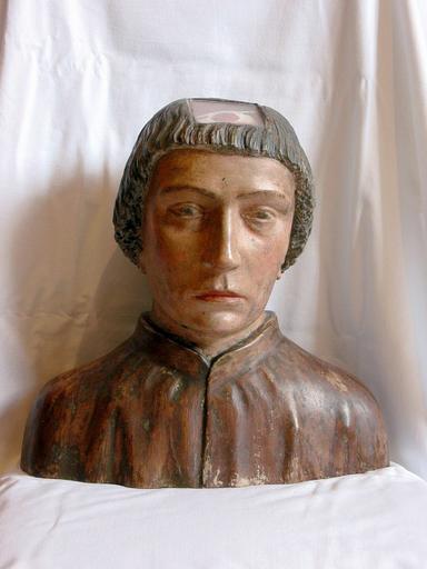 Chef-reliquaire : Saint Parres (dit saint Patrocle)