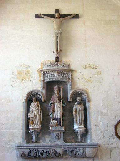 Retable de la chapelle Saint-Nicolas