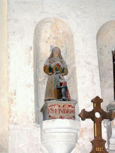 Statue : Saint Hubert agenouillé