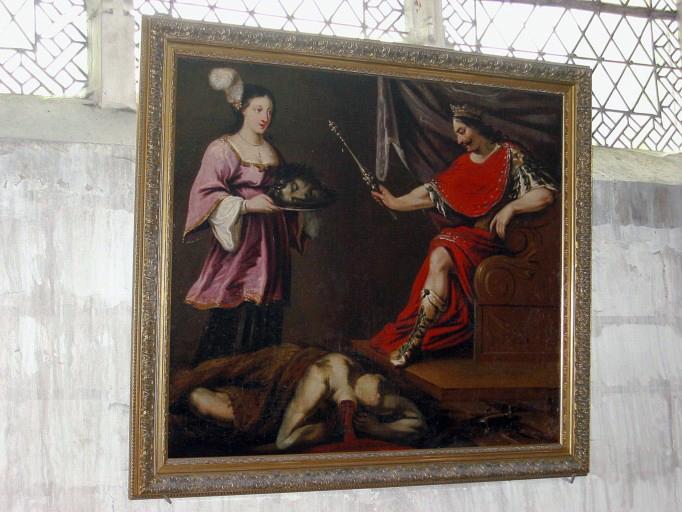 Tableau : Hérode et Salomé, cadre