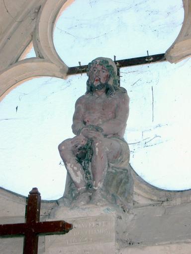 Statuette : Christ de Pitié