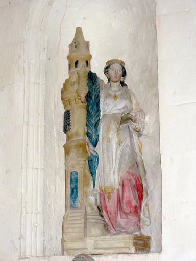 Statue : Sainte Barbe