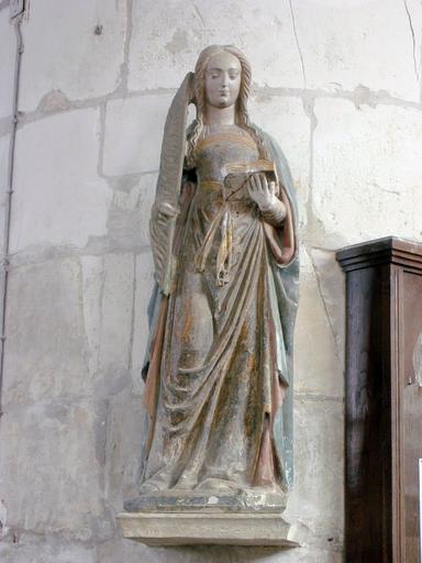 Statue : Sainte Julie
