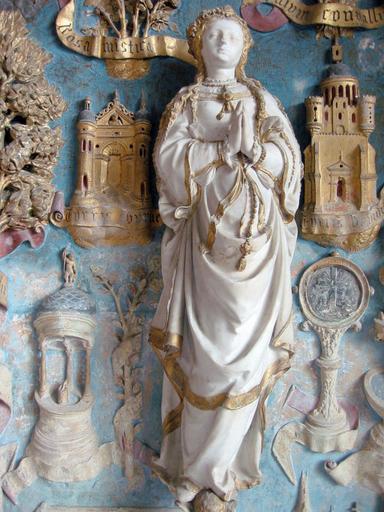 Statuette : Vierge de l'Assomption