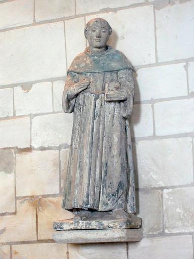 Statuette : Saint religieux