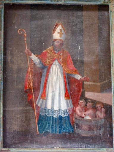 Tableau d'autel : Saint Nicolas
