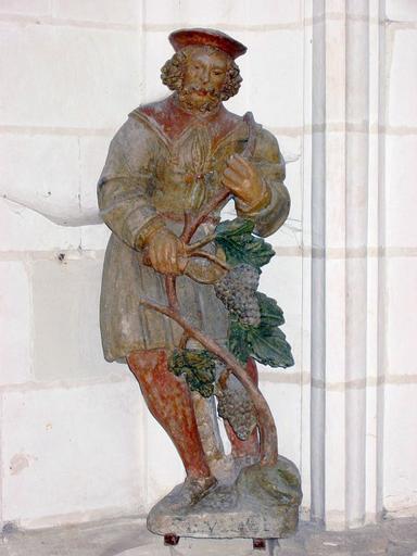 Ex-voto (statuette) : vigneron