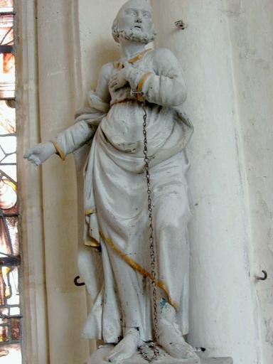 Statue : Saint Pierre aux liens
