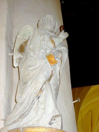 2 statues : Vierge et ange de l'Annonciation