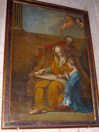 Tableau : Sainte Anne, Vierge, saint Joachim