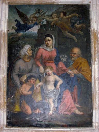 Tableau : Sainte Parenté