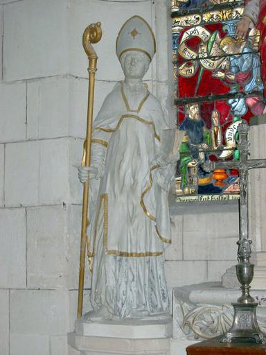 Statue : Saint Bernard