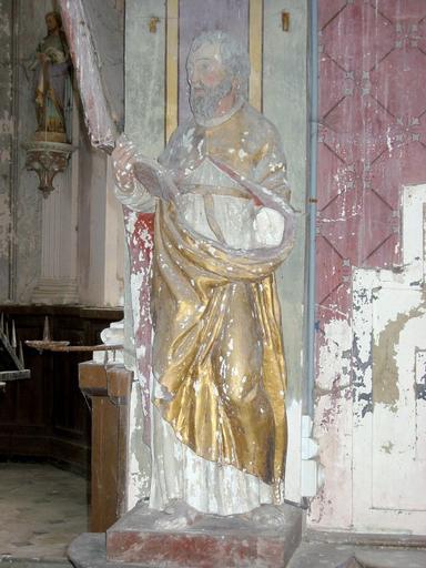 Statue : Saint Thibault ermite