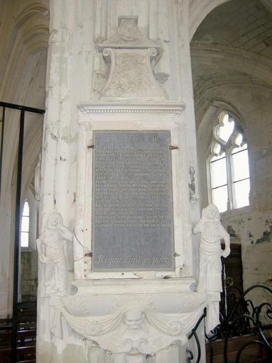 Monument funéraire de Pierre Adam et de sa famille
