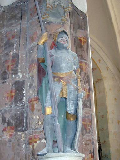 Statue : Saint Quirin