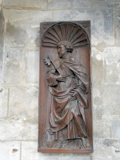 Haut-relief : Saint Pierre