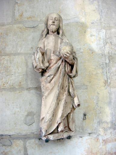 Statuette : Christ en majesté