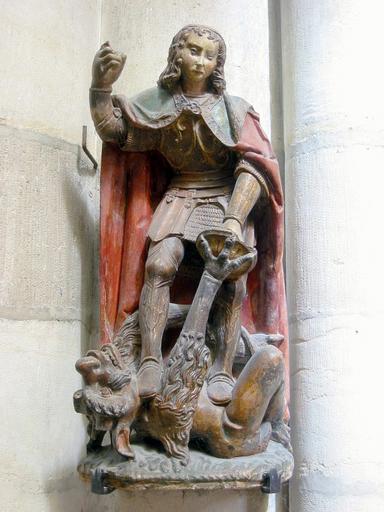Statuette : Saint Michel