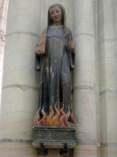 Statue : Saint Odilon