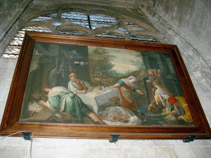 Tableau : Jésus chez Marthe et Marie