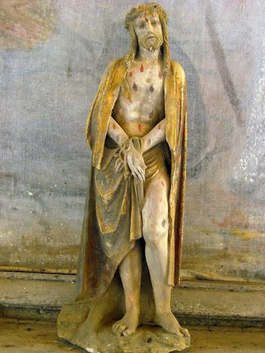 Statuette : Christ au roseau