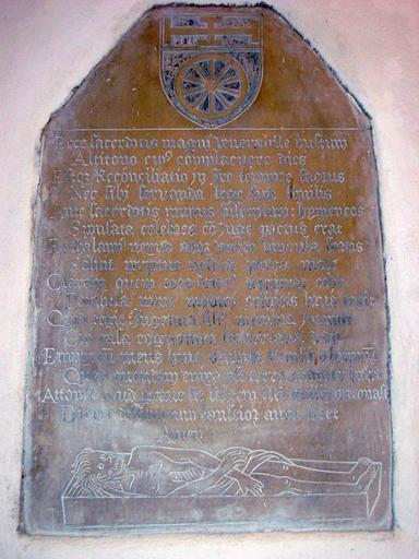 Dalle funéraire de Jean de la Tornerie (?)