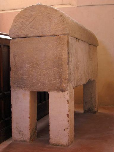 Sarcophage de saint Lupien