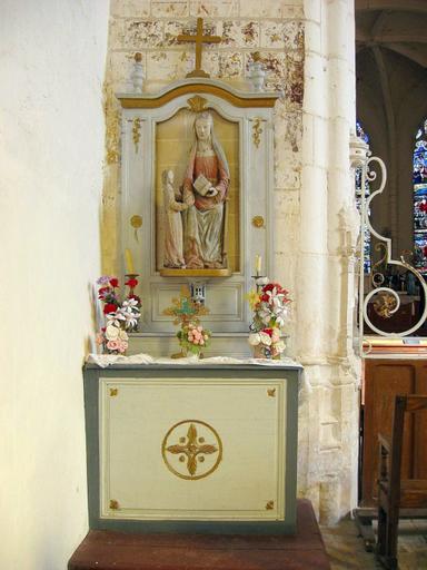 2 retables et autels