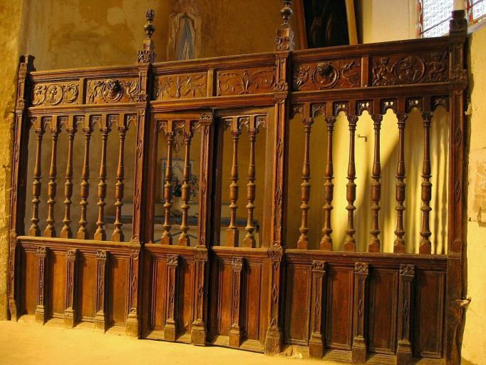 Clôtures des chapelles latérales