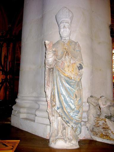 Statue : Saint Eutrope (?)
