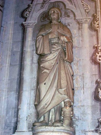Statue : Saint Cosme