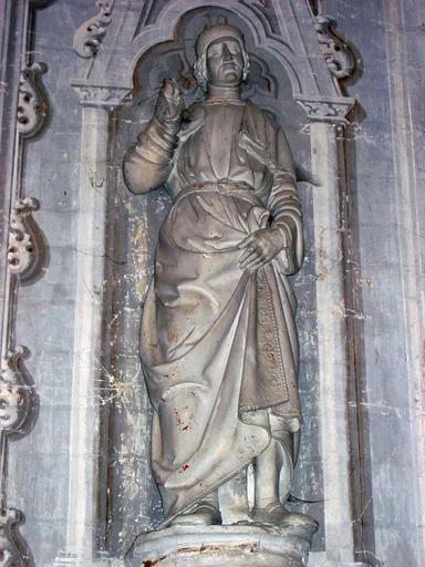 Statue : Saint Damien