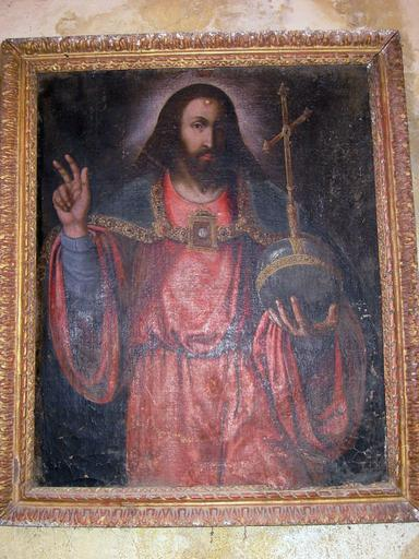 Tableau : Christ bénissant