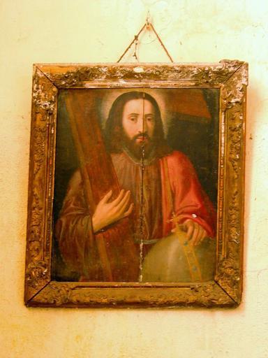 Panneau peint : Christ