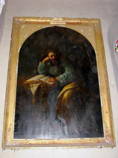 Tableau : Saint Jean Chrysostome en méditation