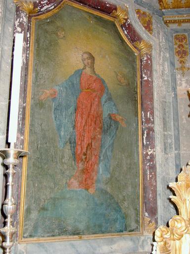 Tableau : Vierge en Nouvelle Ève