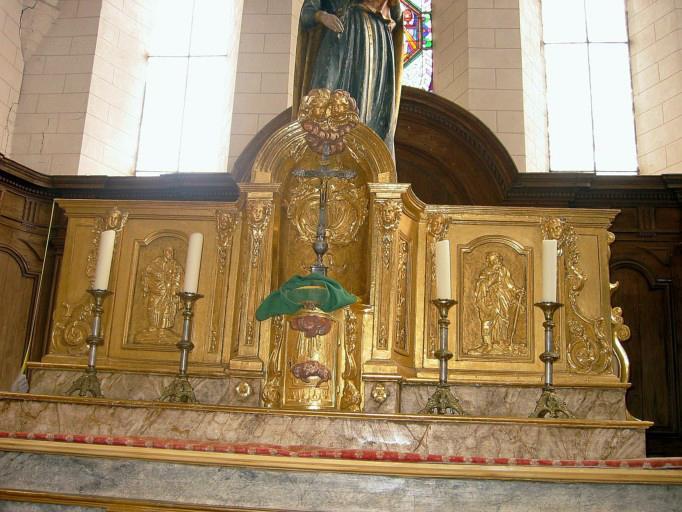 Tabernacle, retable