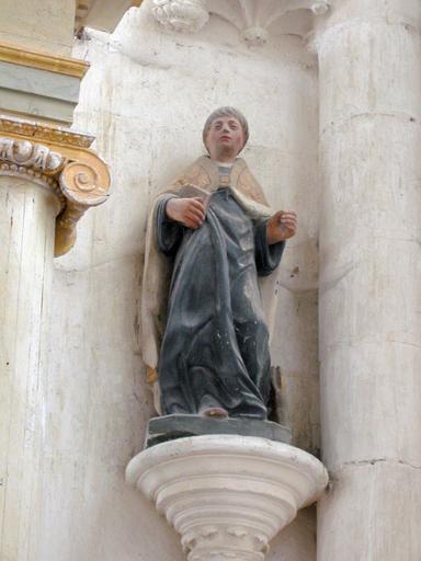 Statue : Saint moine
