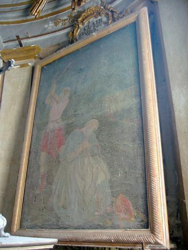 Tableau : Martyre de saint Clair