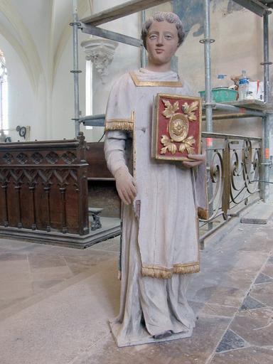 Statue : Saint Vallier