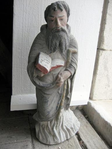 Statue : Saint Antoine (déposée en mairie)